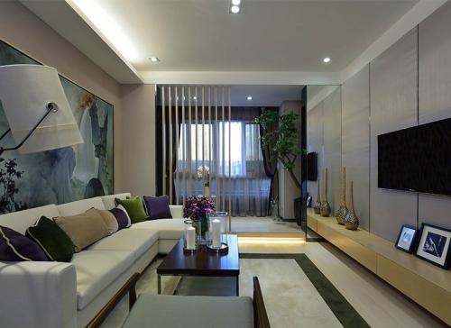 现代风格家具需要的软装配合,才能显示出美感