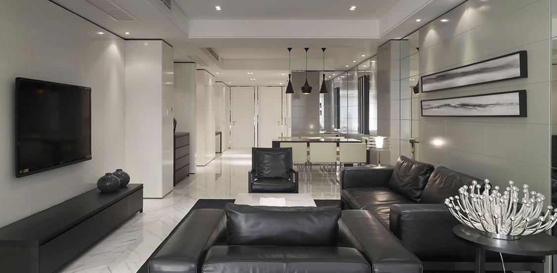 现代居室重视个性和创造性的表现